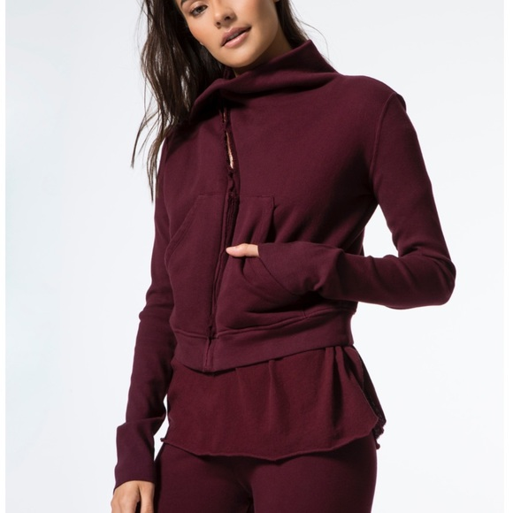bd2ec0d0f98 NEW Frank   Eileen Tee Lab Side Zip Fleece Jacket